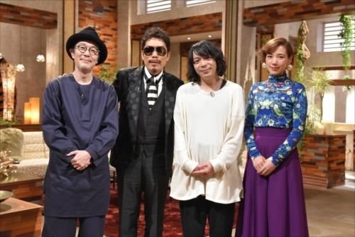 NHK『The Covers』に出演する銀杏BOYZと鈴木雅之