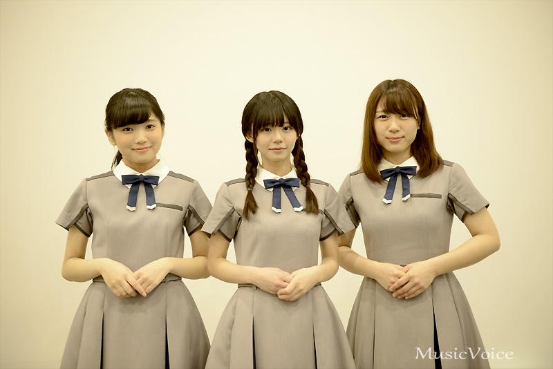 9月20日にメジャーデビューを控える22/7。帆風千春、西條和、花川芽衣はいま、何を思う