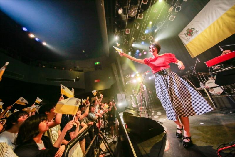 東名阪ツアー最終公演で魔法のような音楽を届けたTWEEDEES(撮影=柴田恵理)
