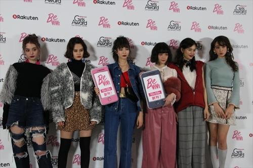 左から瑛茉ジャスミン、emma、、八木アリサ、玉城ティナ、立花恵理、藤井サチ