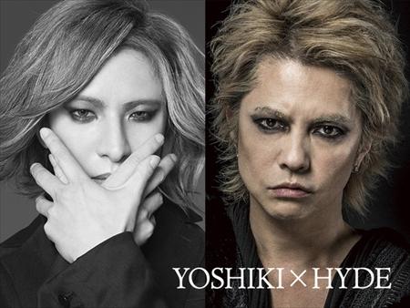 YOSHIKIとHYDE