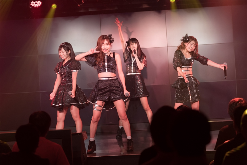 『DEAR KISS Road to 全国ツアー Final Attack』を開催したDEAR KISS(撮影=DEAR KISSスタッフ)