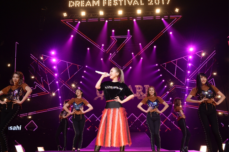 (C)テレビ朝日 ドリームフェスティバル 2017 / 写真:岸田哲平