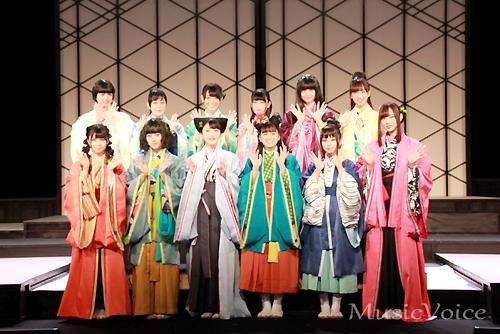 『見殺し姫』公開リハーサルをおこなった乃木坂46の3期生