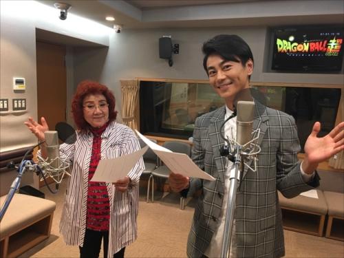 アフレコに初挑戦した氷川きよしと声優・野沢雅子