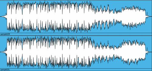 """(図解2)""""非海苔""""2mixデータ Cubaseで書き出したもの"""