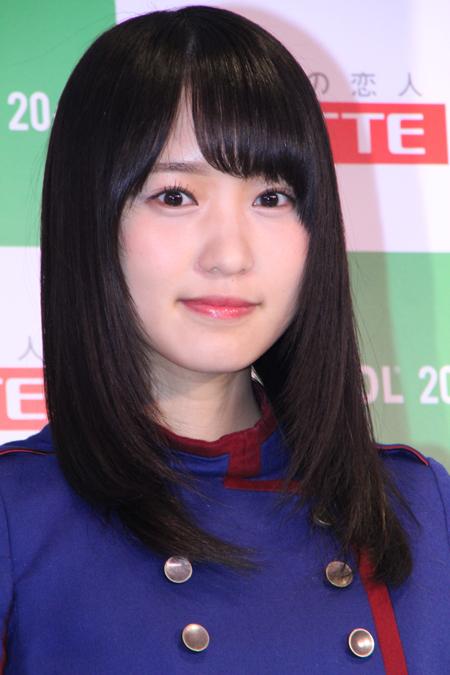 4thシングル「不協和音」の衣装で登場した菅井友香