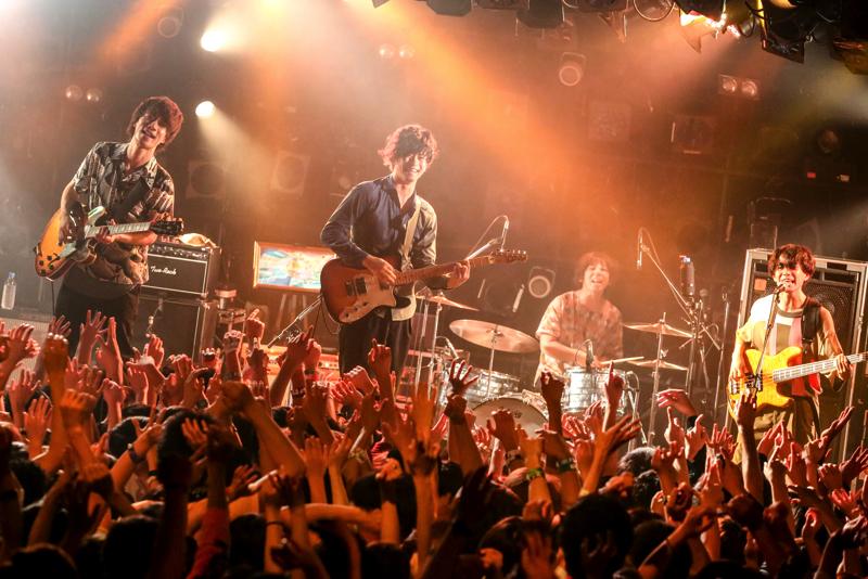 アリーナ公演への一歩となる東名阪ツアーを終えたフレデリック【撮影=Viola Kam (V'z Twinkle) 】