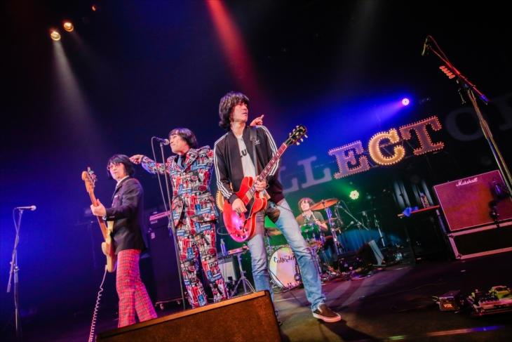 """デビュー30周年を記念したライブツアー『THE COLLECTORS 30th Anniversary TOUR """"Roll Up The Collectors""""』のファイナル公演(撮影=柴田恵理)"""