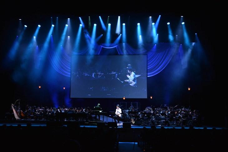 コンサートの模様