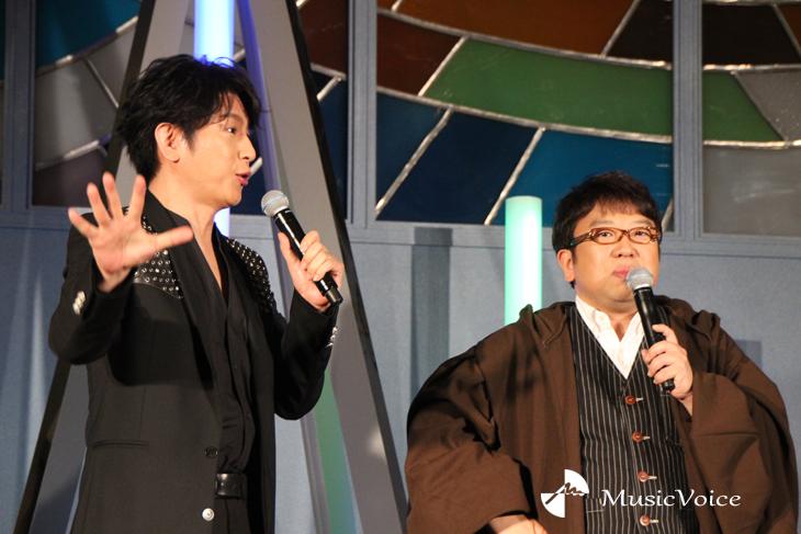 及川光博とキャイ~ン天野