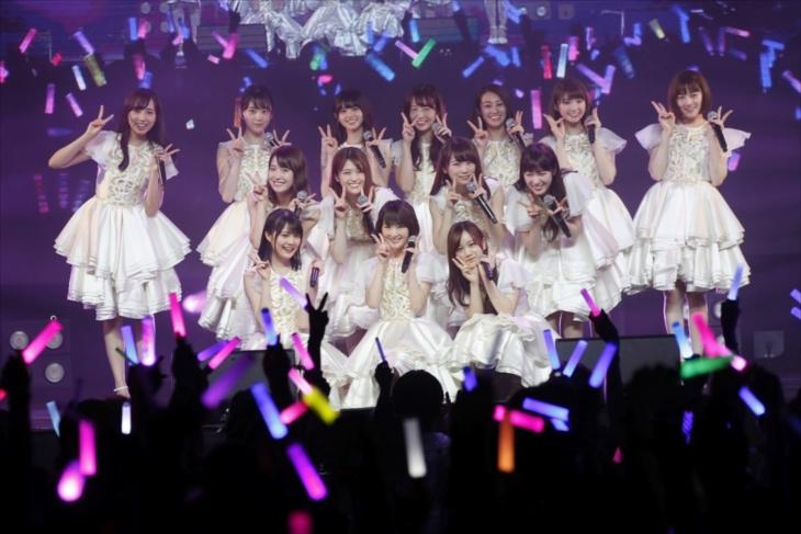 アジア初進出ライブを開催した、乃木坂46