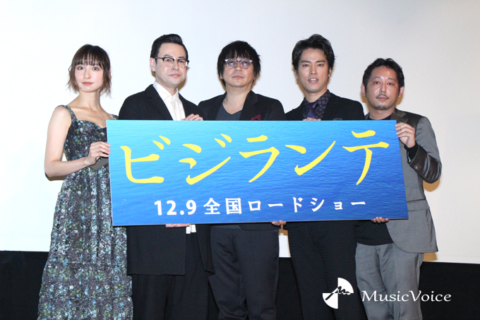 篠田麻里子、鈴木浩介、大森南朋、桐谷健太、入江悠監督