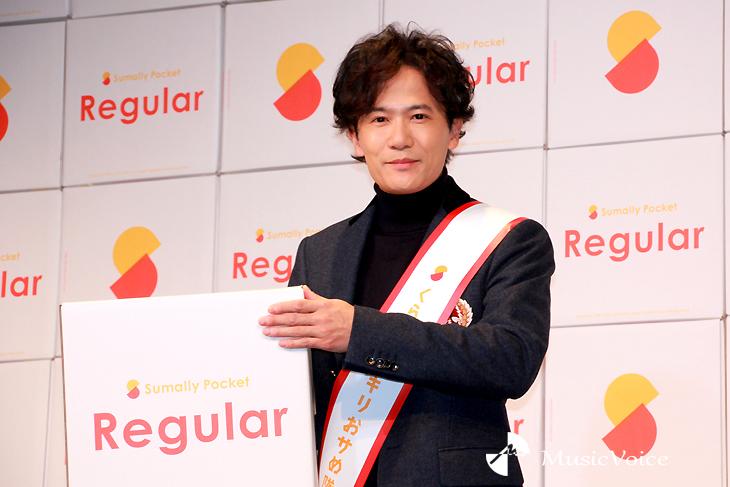 「キャラにない事をやっていきたいと思います」と意気込んだ稲垣吾郎