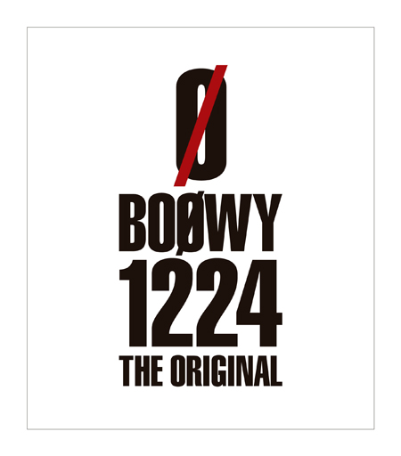 「BOOWY 1224-THE ORIGINAL」Bru-rayジャケット