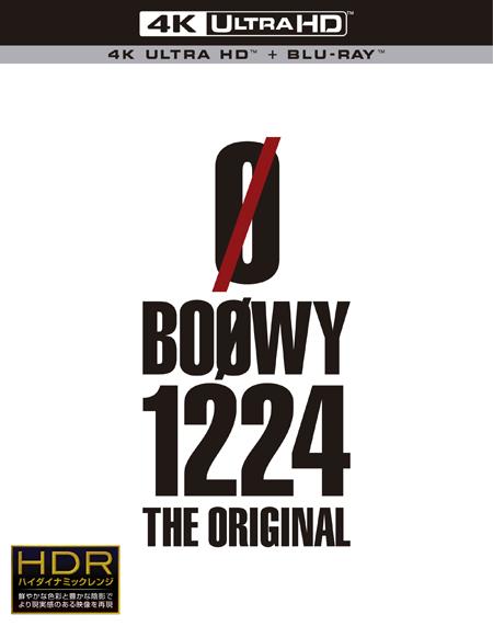 『BOOWY 1224 -THE ORIGINAL-』Ultra HD Blu-ray +Blu-ray(5.1ch)