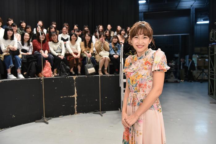 スタジオでの紗栄子