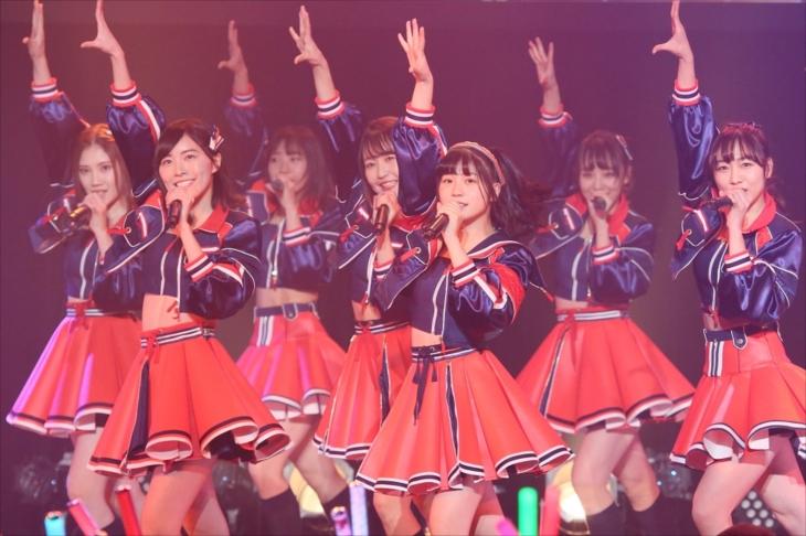 ミニライブを開催したSKE48