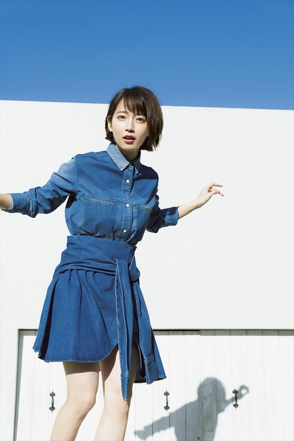 「週刊少年マガジン」8号・吉岡里帆(講談社)