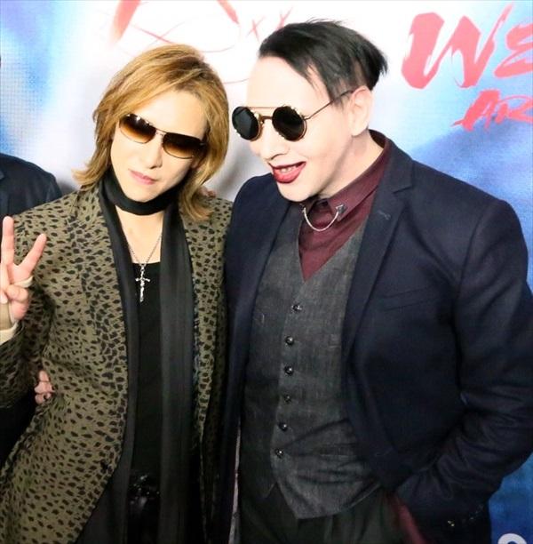 YOSHIKIとマリリン・マンソン
