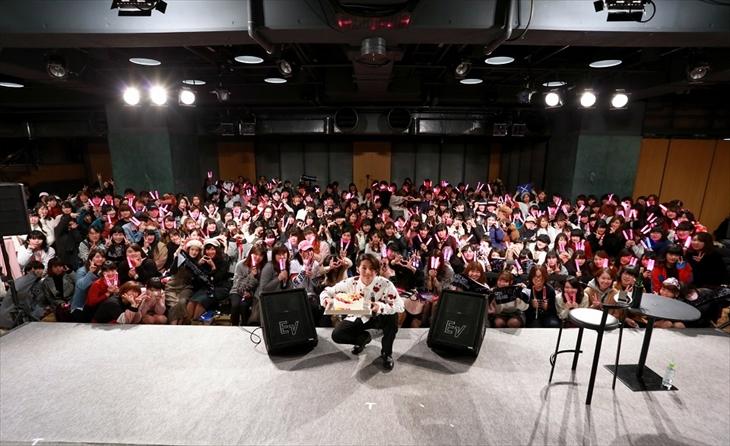 20歳の生誕祭を開催したDISH//の矢部昌暉(提供写真)