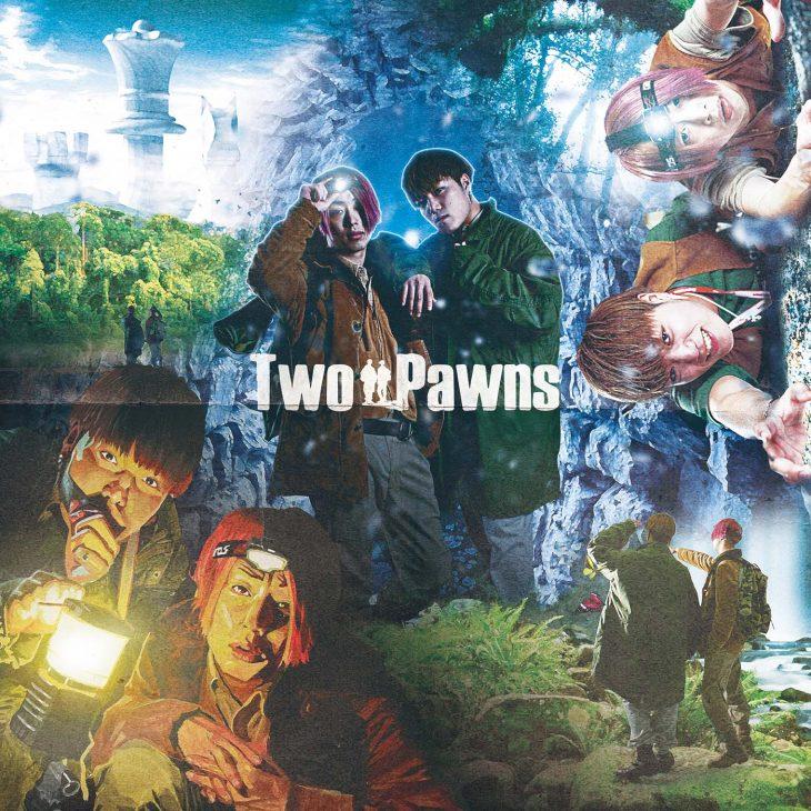 EINSHTEIN & 言×THE ANSWER『Two Pawns』ジャケ写