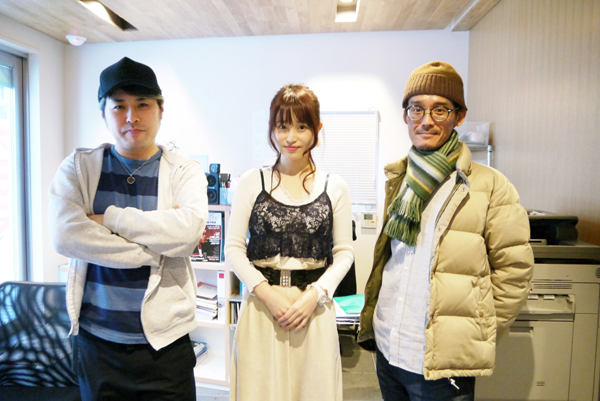 岡部磨知(中央)参加のナナーミーゴス(提供写真)