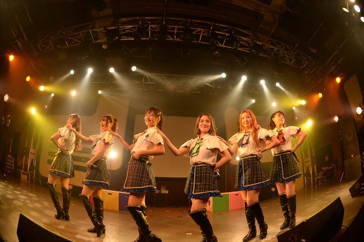『La PomPon 2ndワンマンライブ〜the 3rd Anniversary〜』を開催したLa PomPon(撮影=達川範一)