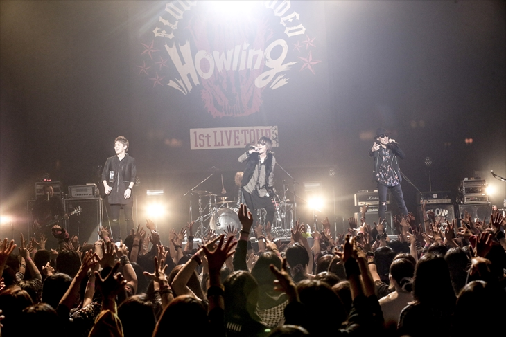 """『FLOW×GRANRODEO 1st LIVE TOUR """"Howling""""』の東京公演を開催したFLOW×GRANRODEO(撮影=平野タカシ)"""