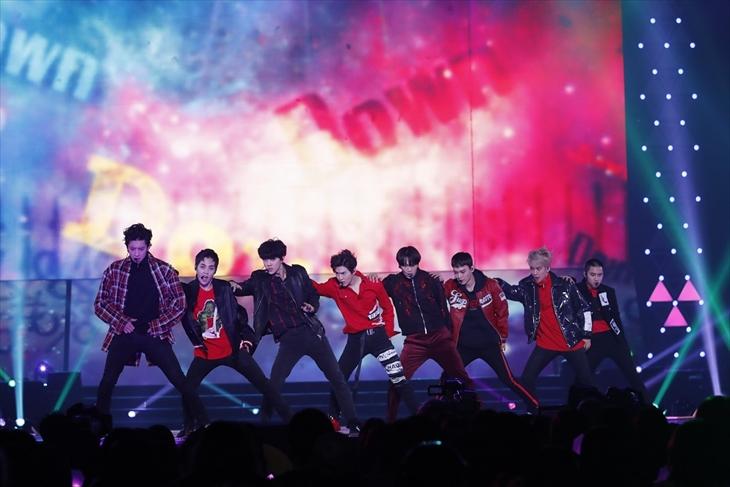 EXOのステージの様子