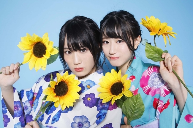 NMB48 スクールカレンダー 2018-2019・城恵理子&上西怜(C)NMB48