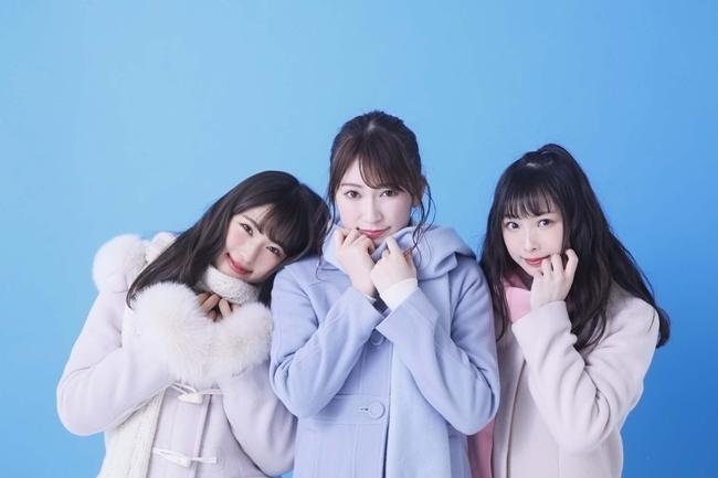 NMB48 スクールカレンダー 2018-2019・吉田朱里&渋谷凪咲&梅山恋和(C)NMB48