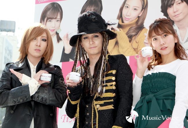 渋谷にYOSHIKIとHYDE?ざわちん、イベント初のマスク無し