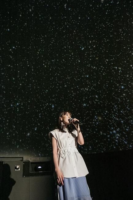コスモプラネタリウム渋谷で歌うJY