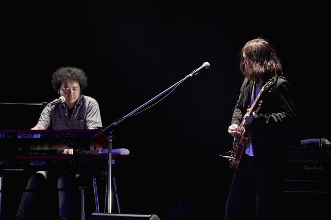 Takahiro ItoとJun Matsue(Photo by 立脇卓)