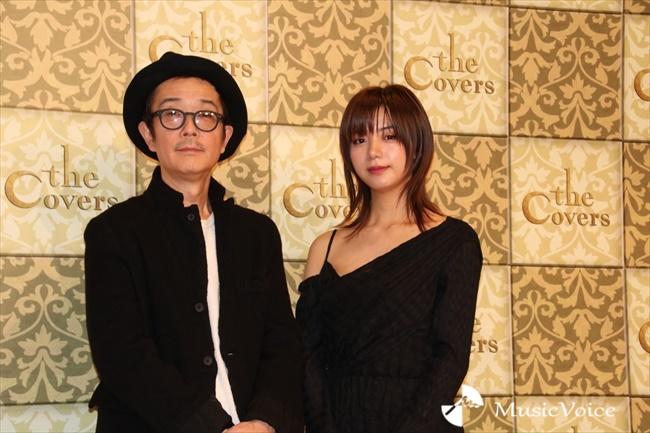『The Covers』でMCを務める池田エライザとリリー・フランキー