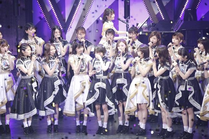 生駒里奈・卒業コンサート。中盤