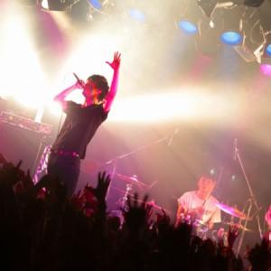 <写真>渋谷でツアーをスタートさせたギルガメッシュ