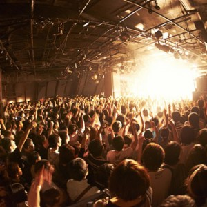 <写真>渋谷公演で全国ツアー開催を発表したBase Ball Bear