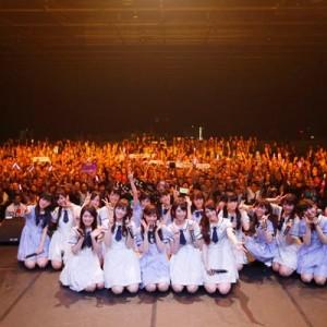 乃木坂46が仏パリで初の海外ライブ、現地ファンから喝采<2>
