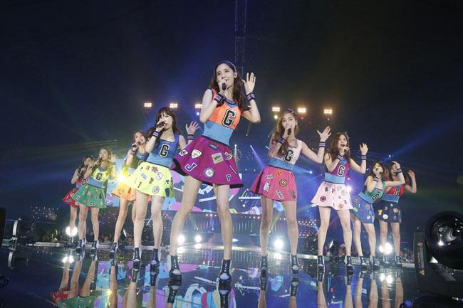 少女時代が代々木第一体育館で3度目日本ツアーファイナル<1>