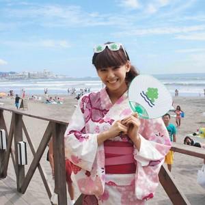 西内まりやが公開生配信番組に出演(2014年8月8日)