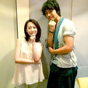 斎藤工と一青窈が2年ぶりにラジオ共演(2014年8月25日)