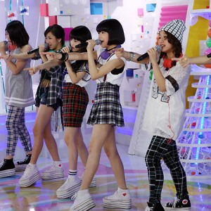 Little Glee Monsterがめざましテレビ生出演(2014年8月27日)