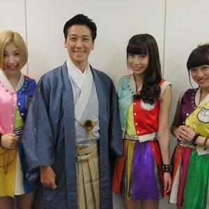 【写真】チキパが和泉元彌にインタビュー<1>(2014年10月4日)