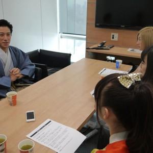 【写真】チキパが和泉元彌にインタビュー<2>(2014年10月4日)