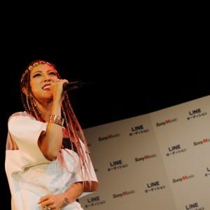 [写真]JASMINEがLINEオーディションにゲスト出演