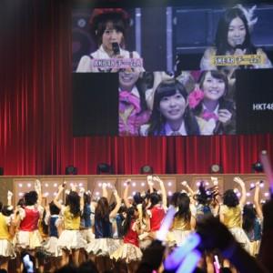 [写真]HKT48全国ツアー福岡公演-3