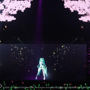 [写真]初音ミク初のNY公演を放送