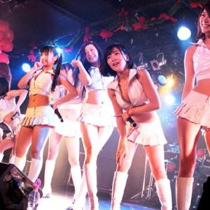 [写真]G☆GirlsがAMiE年内ラスト公演に登場